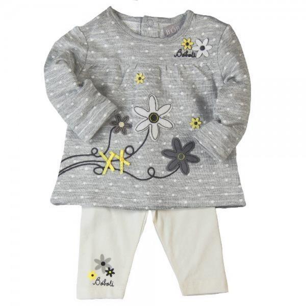 Bóboli Baby-Set Langarmshirt und Legging für Mädchen Gr. 50 - 80