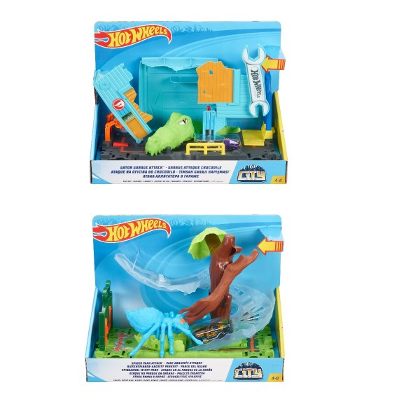 Mattel Hot Wheels City Spielzeug-Sets (Motivauswahl)