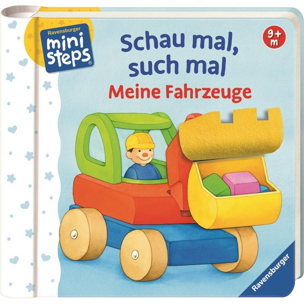 ministeps Kinderbuch Schau mal, such mal: Meine Fahrzeuge