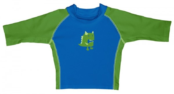 i play Jungen Kinder Schwimmshirt blau/grün