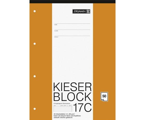 KIESER-Block liniert Lineatur 21