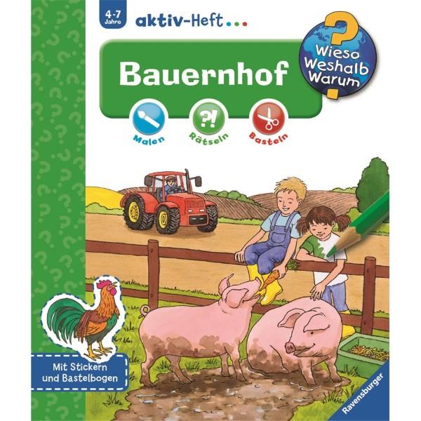 Ravensburger Wieso Weshalb Warum? aktiv-Heft Bauernhof