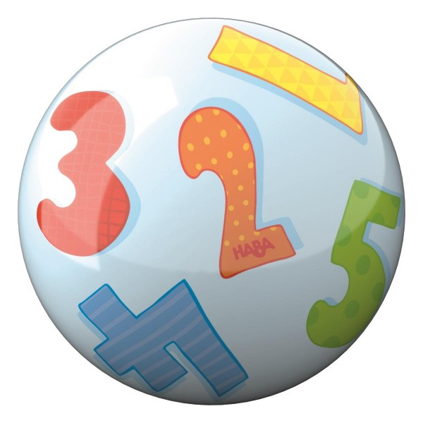 Haba Kinder Ball Zahlen 13,5 cm