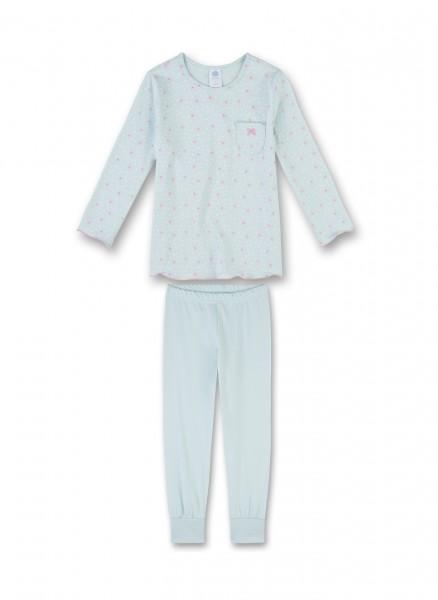 Sanetta Mädchen Schlafanzug lang Schmetterlinge Gr. 92 - 140