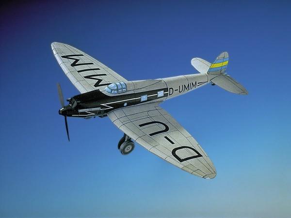 """Schreiber-Bogen Modellbau Schnellverkehrsflugzeug Heinkel He 70 """"Blitz"""""""