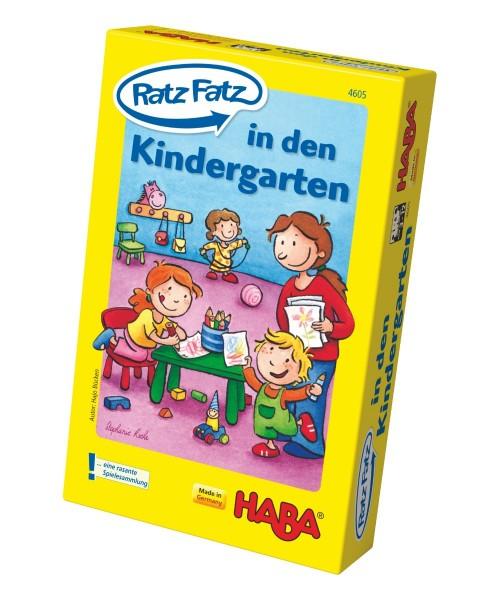 Haba Spiel Ratz Fatz in den Kindergarten