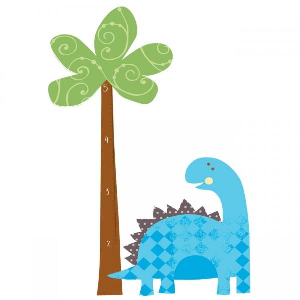 ROOM MATES Wandsticker Messlatte Dinosaurier
