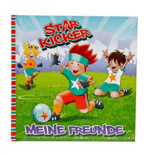 STAR KICKER Freundebuch