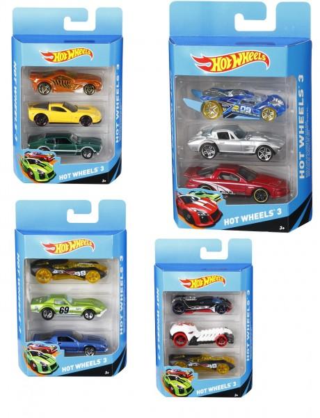 Mattel Hot Wheels Autos 3er Set