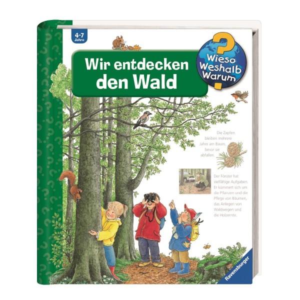 Ravensburger Wieso Weshalb Warum? Wir entdecken den Wald (Band 46)