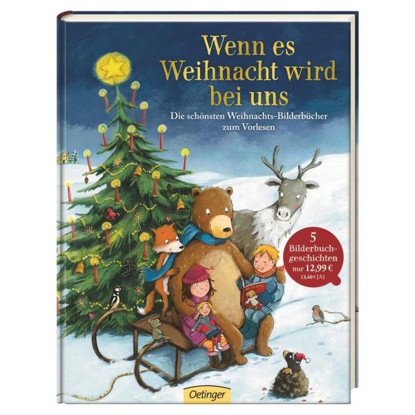 Kinderbuch Wenn es Weihnachten wird bei uns