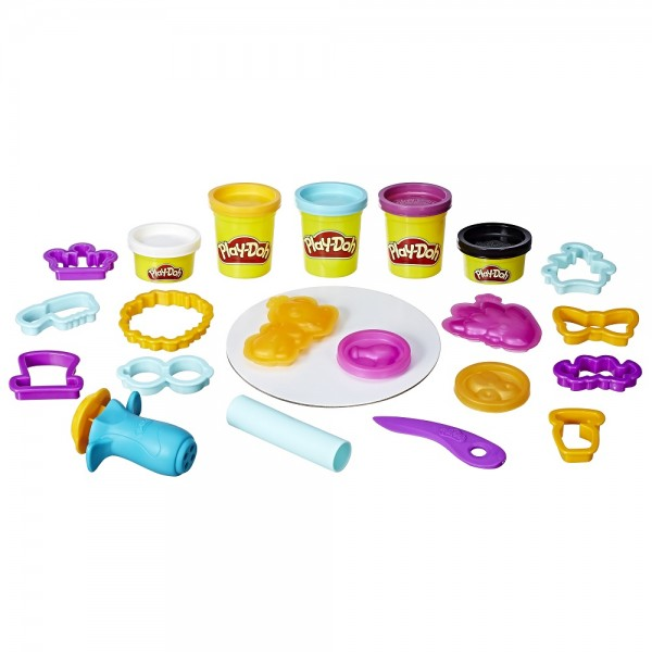 Hasbro Play-Doh Touch Haare Boosterset