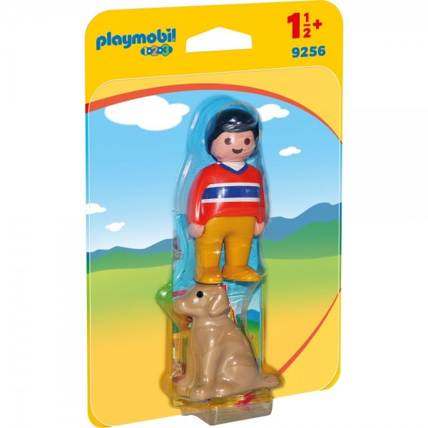 Playmobil® 123 Mann mit Hund 9256