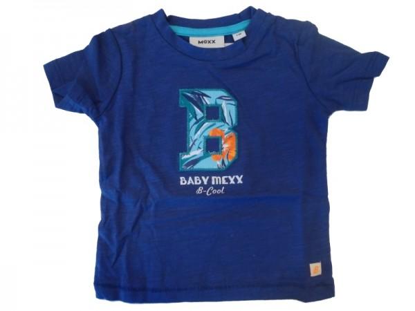MEXX Jungen Baby T-Shirt ocean blue Gr. 56 - 68
