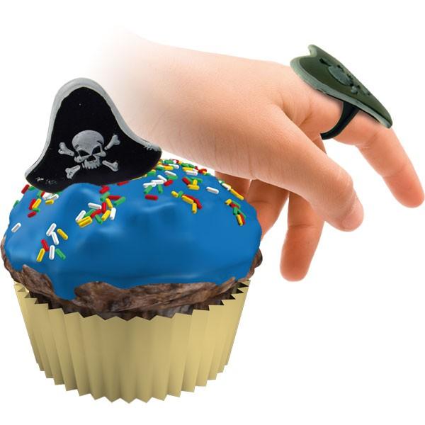 Kindergeburtstag Muffin Dekoringe Piraten