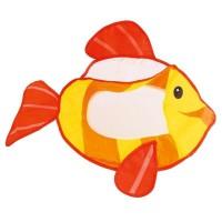 Bieco Badewannennetz mit Saugnäpfen Fisch