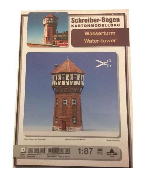 Schreiber-Bogen Kartonmodellbau Wasserturm