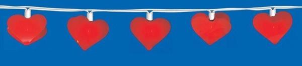 QUANDT Lichterkette Herzen für Kinder