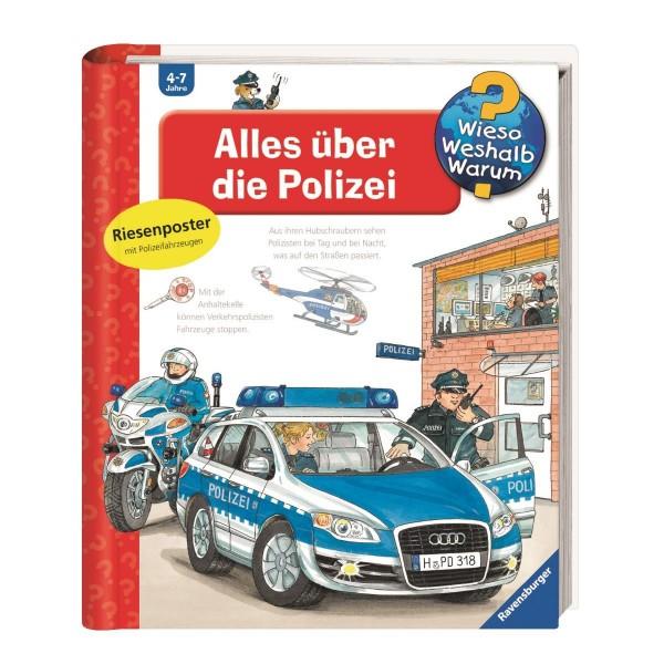 Ravensburger Wieso Weshalb Warum? Alles über die Polizei (Band 22)