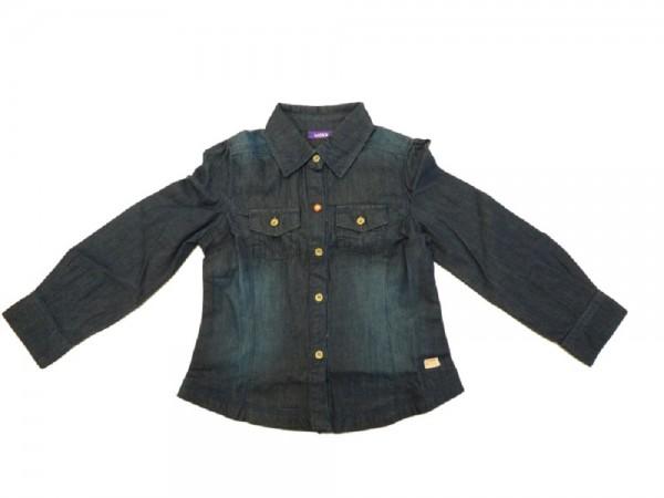 MEXX - Kinder Jeansbluse night blue demin Gr. 98 - 152