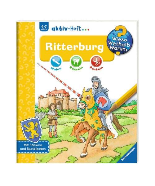 Ravensburger Wieso Weshalb Warum? aktiv-Heft Ritterburg