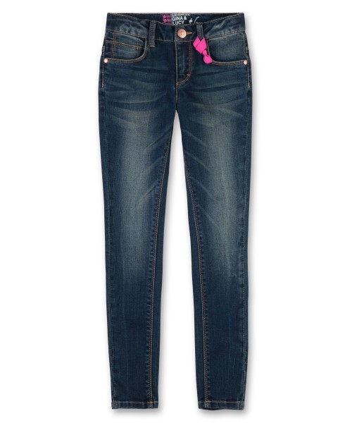 George Gina & Lucy Girls Jeans blue demin Gr. 116 - 164