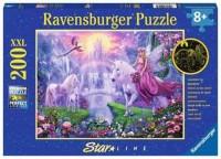 Ravensburger Kinder Puzzle XXL Starline 200 Teile Magische Einhornnacht