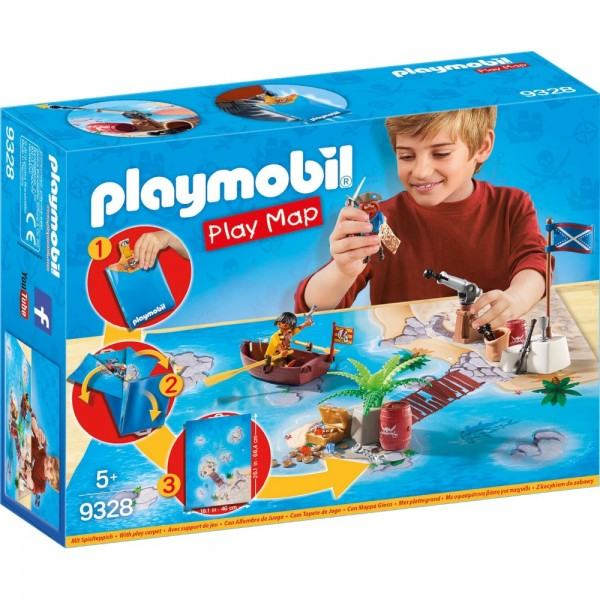 Playmobil® Pirates Play Map Piraten 9328