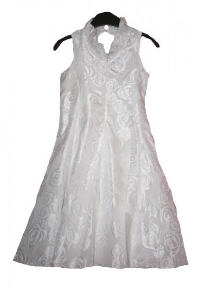 MONNY festliches weißes Kleid für Kommunion,Hochzeit Gr.134-146