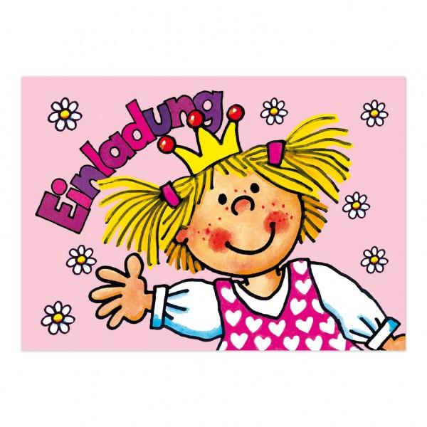 LUTZ MAUDER Kindergeburtstag Einladungskarte Prinzessin