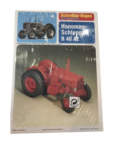 Schreiber-Bogen Modellbau Hanomag-Schlepper R40AE