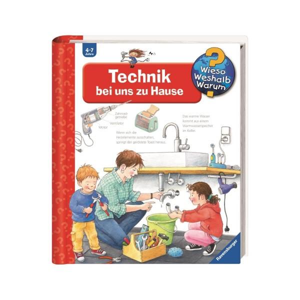 Ravensburger Wieso Weshalb Warum? Technik bei uns zu Hause (Band 24)