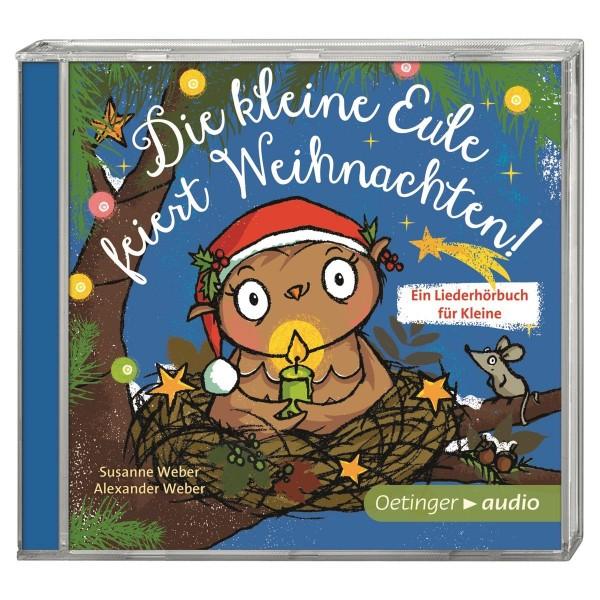 Kinder-CD Die kleine Eule feiert Weihnachten!