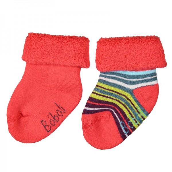 Bóboli Baby Socken 2er Pack orange Gr. 16-21