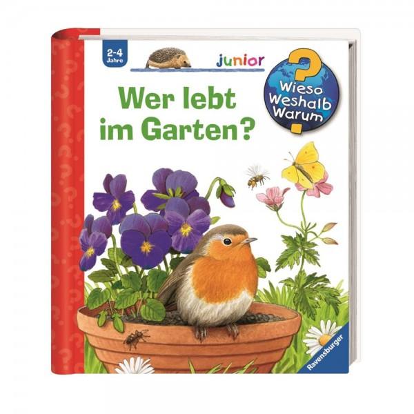 Ravensburger Wieso Weshalb Warum? Junior Wer lebt im Garten? (Band 49)