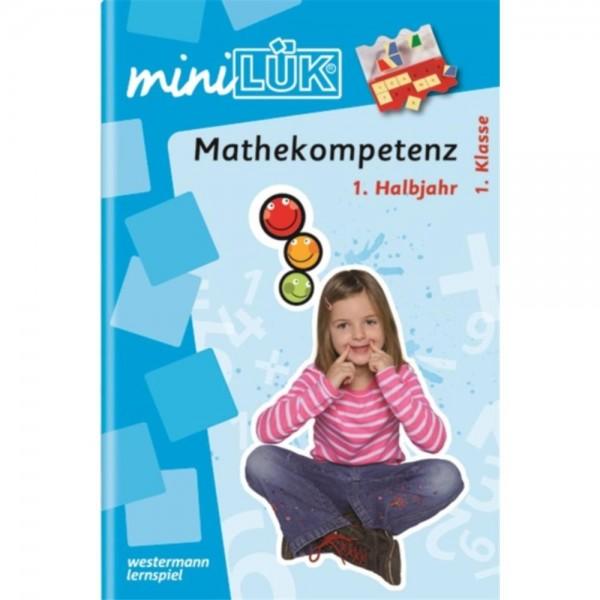 miniLÜK Heft Mathekompetenz 1. Klasse 1. Halbjahr