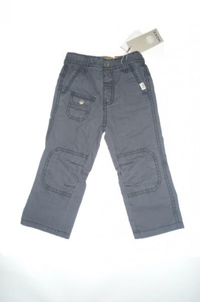 MEXX Jungen Kinder Hose grey blue im Cargostil Gr. 74 - 92