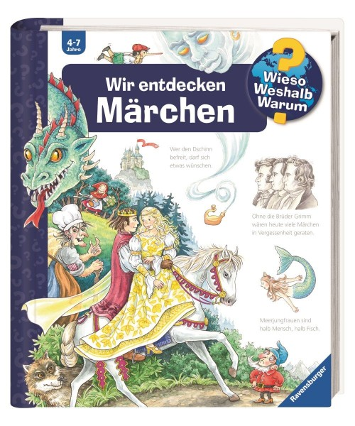 Ravensburger Kinder Buch Wieso Weshalb Warum? Wir entdecken Märchen
