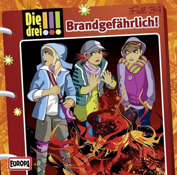 KOSMOS CD Die drei !!! 34 Brandgefährlich!