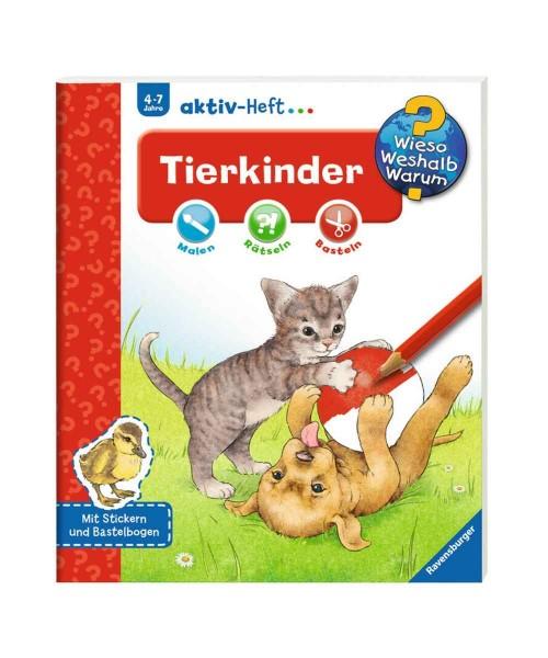 Ravensburger Wieso Weshalb Warum? aktiv-Heft Tierkinder