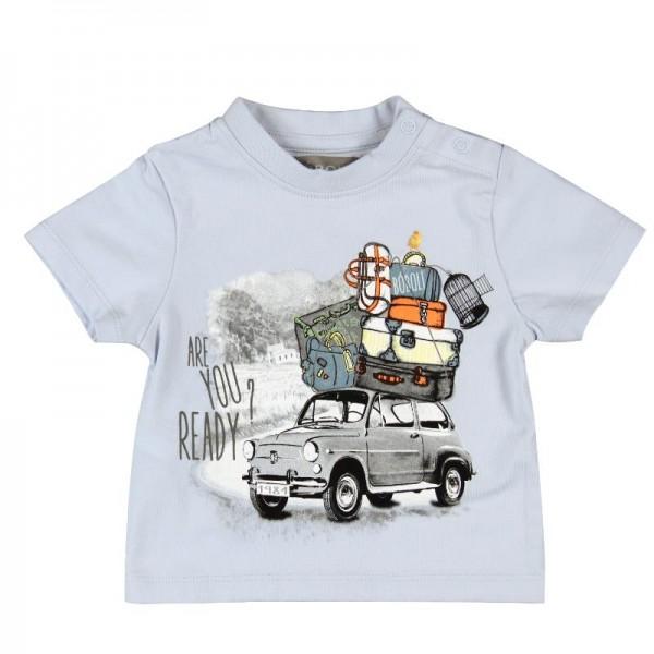 Bóboli Jungen T-Shirt Urlaubsfahrt Gr. 74 - 92