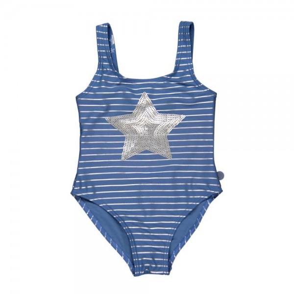 Bóboli Mädchen Badeanzug Stern blau Gr. 98 - 164
