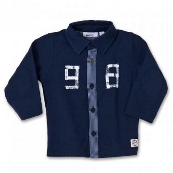MEXX Jungen Baby Langarmshirt blau (blue midnight) Gr. 62, 68