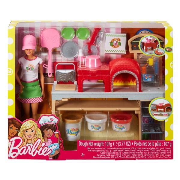 Mattel Barbie Cooking & Baking Pizzabäckerin Spielset