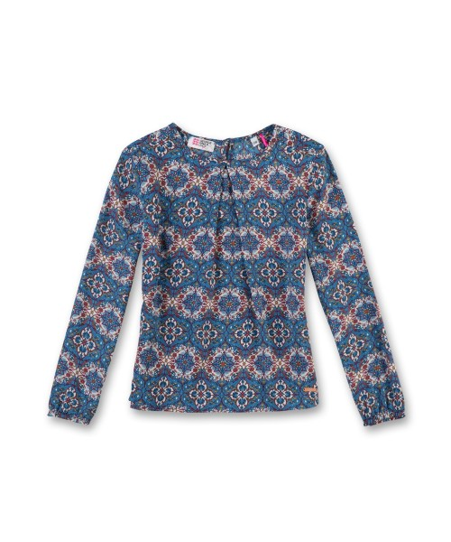 George Gina & Lucy Girls Bluse Vintage Muster Gr. 116 - 164