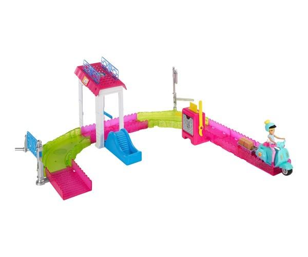 Mattel Barbie on the Go Poststation Spielset