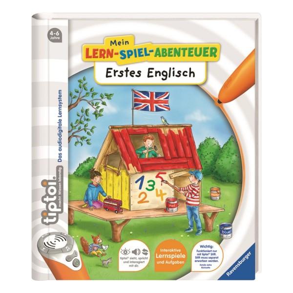 Ravensburger tiptoi® Buch Mein Lern-Spiel-Abenteuer Erstes Englisch