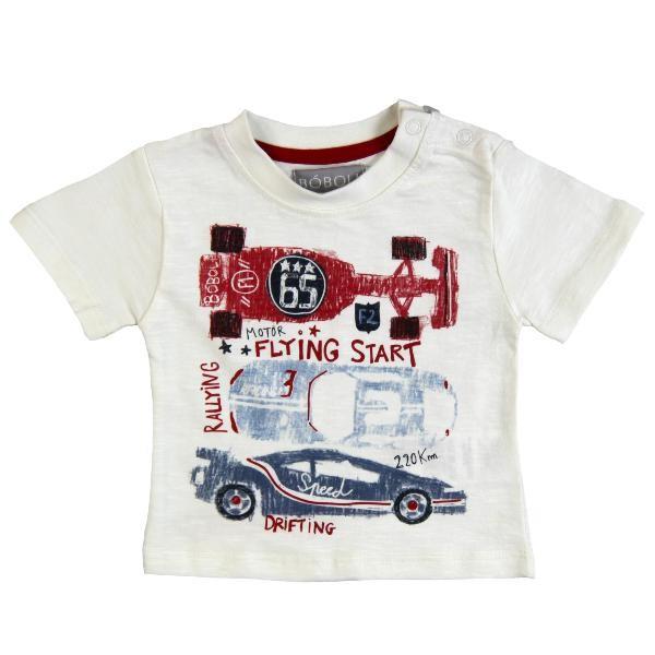 Bóboli Jungen T-Shirt Rennautos Gr. 86 - 104