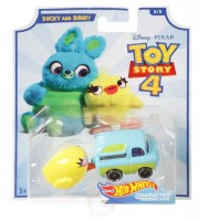 Mattel Hot Wheels Spielzeugauto Toy Story 4 Ducky and Bunny
