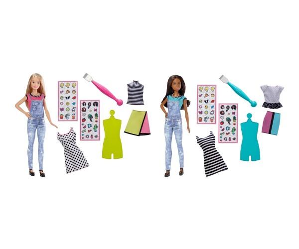Mattel Barbie Puppen DIY Emoji Style (Motivauswahl)